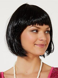 Perruques - Perruque courte avec frange - Kiabi