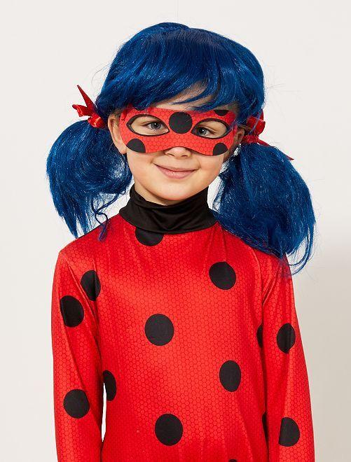 Perruque 'Ladybug' 'Miraculous'                             bleu/rouge Enfant