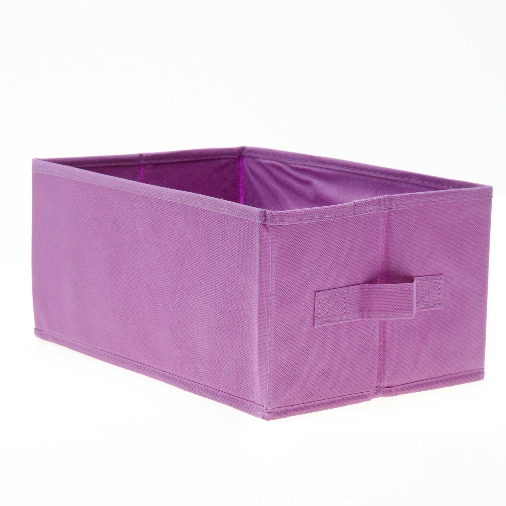 petit panier pliable linge de lit violet kiabi 3 00. Black Bedroom Furniture Sets. Home Design Ideas
