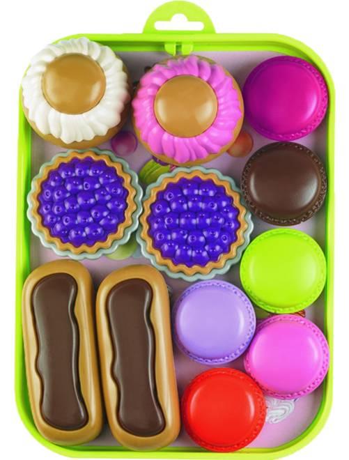 Plateau de pâtisserie                             multicolore Fille