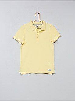 Polo taille 4a - Polo en coton piqué - Kiabi