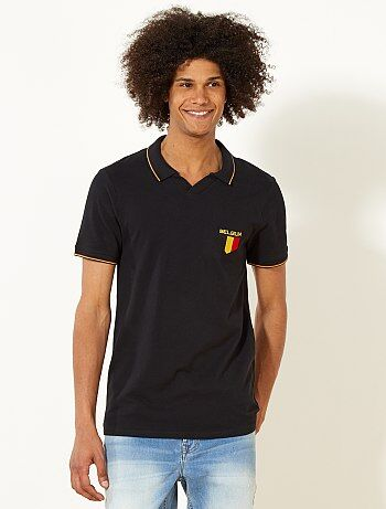 Polo fitted Belgique - Kiabi