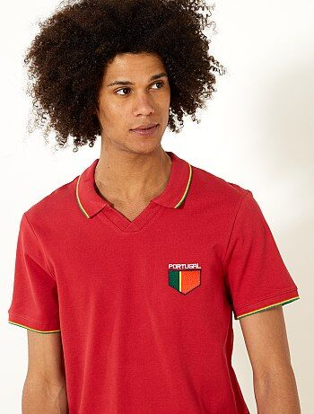 Polo fitted Portugal - Kiabi