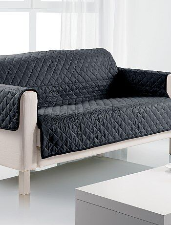 prot ge canap 3 places linge de lit kiabi 20 00. Black Bedroom Furniture Sets. Home Design Ideas