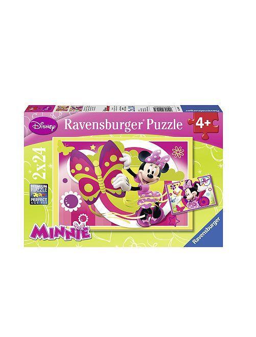 Puzzle 'Minnie Mouse' 'Disney' de 'Ravensburger'                             fuchsia