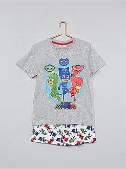 Pyjama, peignoir - Pyjama court 'Pjmasks' - Kiabi