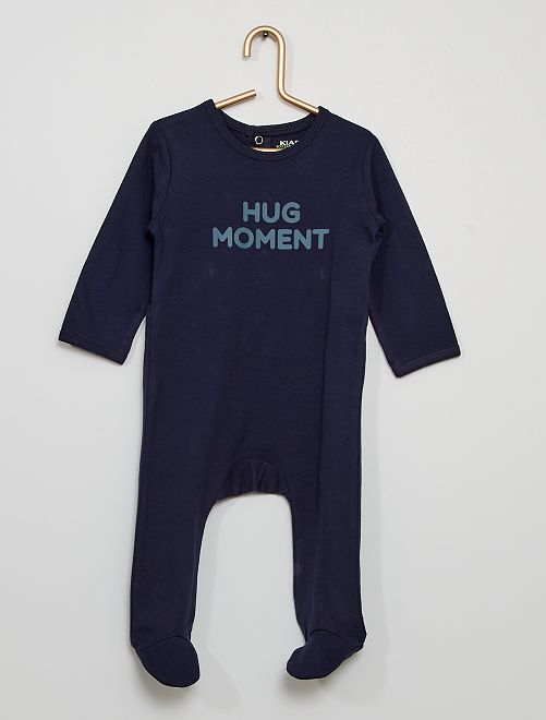 Pyjama éco-conçu                                                                                         bleu