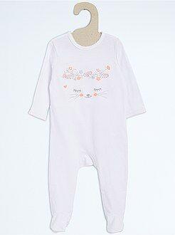 Pyjama - Pyjama en coton
