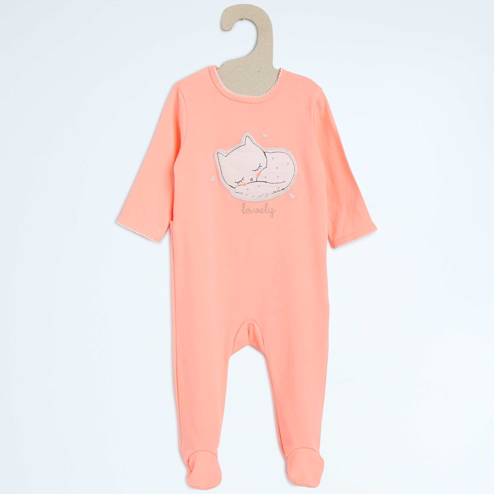 pyjama en coton b b fille kiabi 9 00. Black Bedroom Furniture Sets. Home Design Ideas