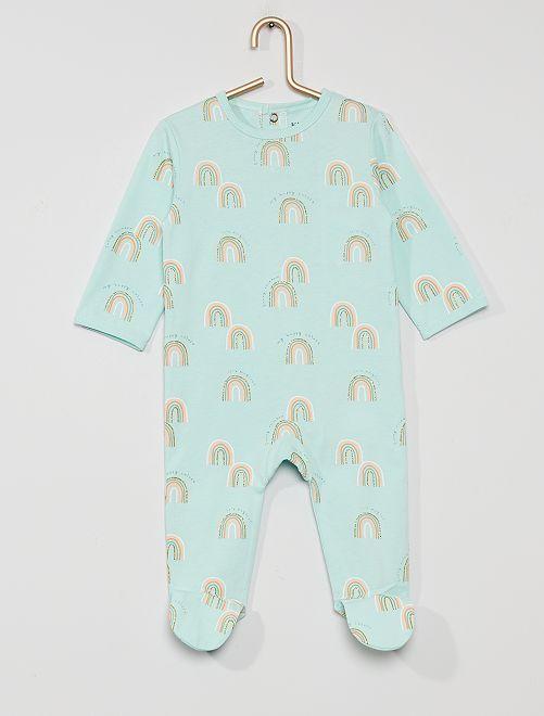 Pyjama en jersey 'éco-conçu'                                                                                                                                                                                                     arc en ciel