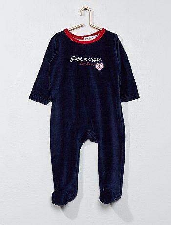 Pyjama en velours 'Little Marcel' - Kiabi