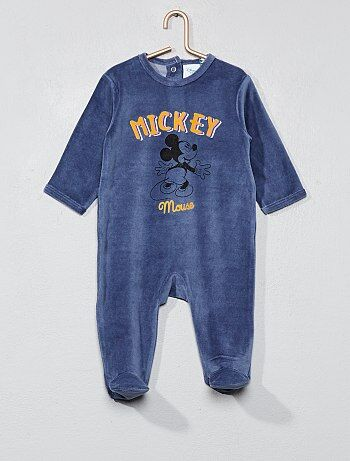 Pyjama en velours 'Mickey' - Kiabi