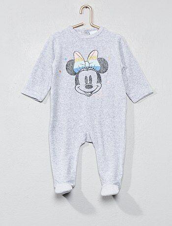 Pyjama en velours 'Minnie' - Kiabi