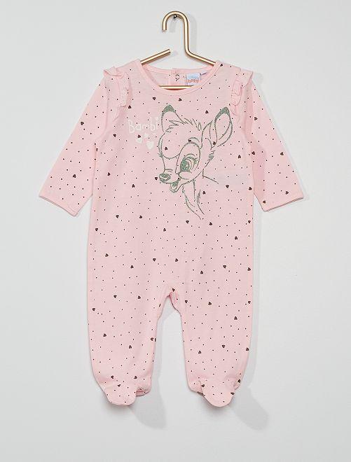 Pyjama jersey 'Bambi'                     rose