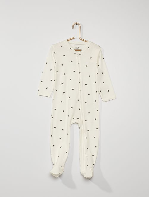 Pyjama jersey                                                                 blanc