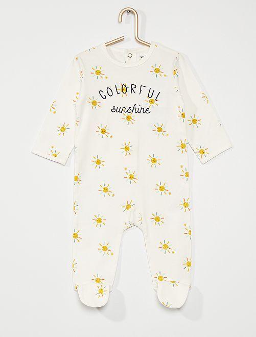 Pyjama jersey                                                                                                                                                                                                                                                     blanc sun