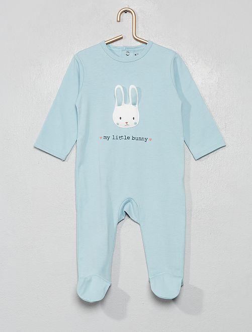 Pyjama jersey                                                                                                     bleu/lapin