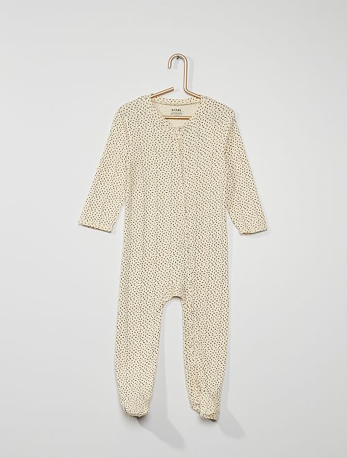 Pyjama jersey                                                                 écru