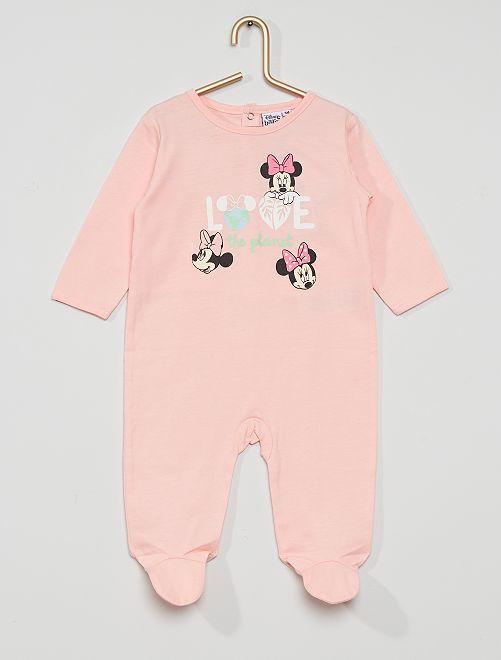 Pyjama jersey 'Minnie'                                         rose