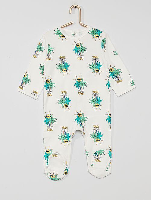 Pyjama jersey                                                                                                                                                                                                                                                     palmier