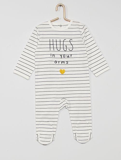 Pyjama jersey                                                                                                                                                                                                                                                     rayé