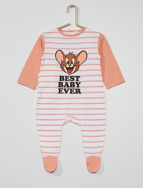 Pyjama jersey 'Tom & Jerry'                             rose