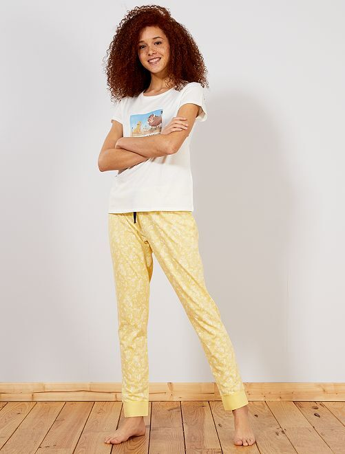 Pyjama 'Le Roi Lion'                                                                             jaune
