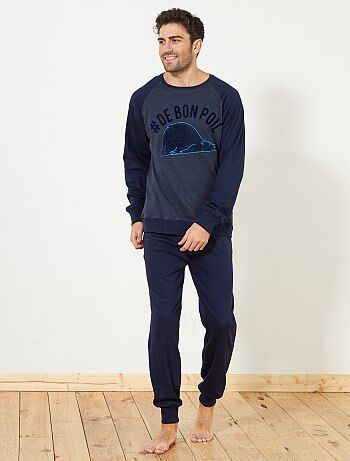 Homme du S au XXL - Pyjama long épais - Kiabi
