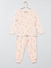 Pyjama long imprimé 'chat'