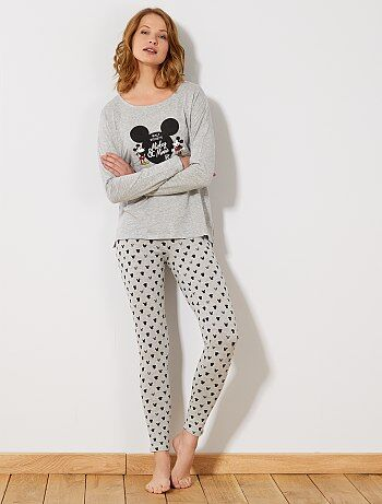 Pyjama long 'Mickey & Minnie' - Kiabi