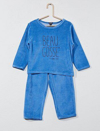 Pyjama long 'Petit dur' - Kiabi