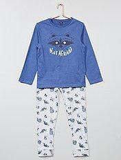 Pyjama long 'Raton Laveur' phosphorescent