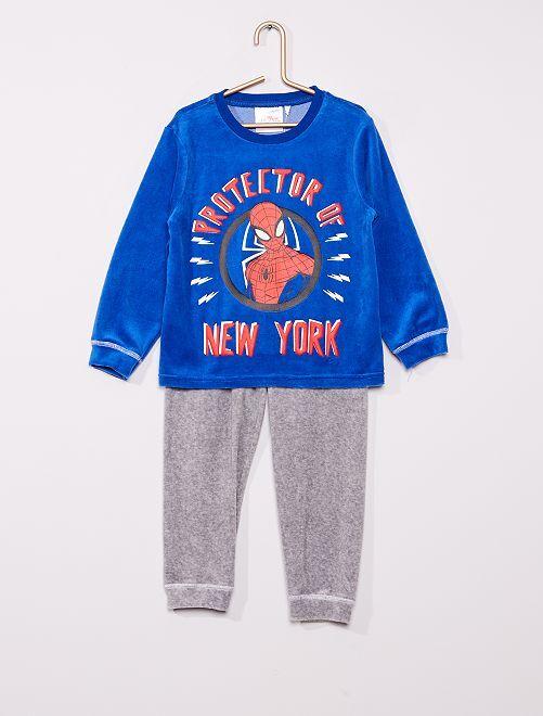 Pyjama long 'Spider-Man'                                         bleu/gris