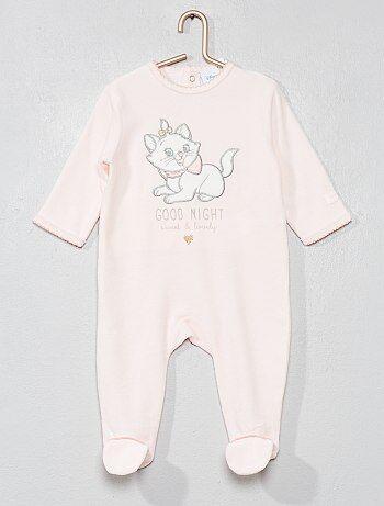 Pyjama 'Marie' en velours - Kiabi