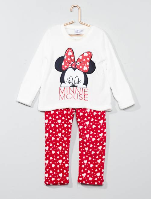 Pyjama 'Minnie Mouse'                                         BLANC Fille