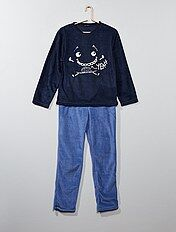 Pyjama 'monstre' en polaire