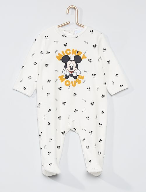 Pyjama velours 'Mickey'                                         Mickey