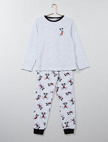 Pyjama velours 'Mickey Mouse' de 'Disney' - Kiabi