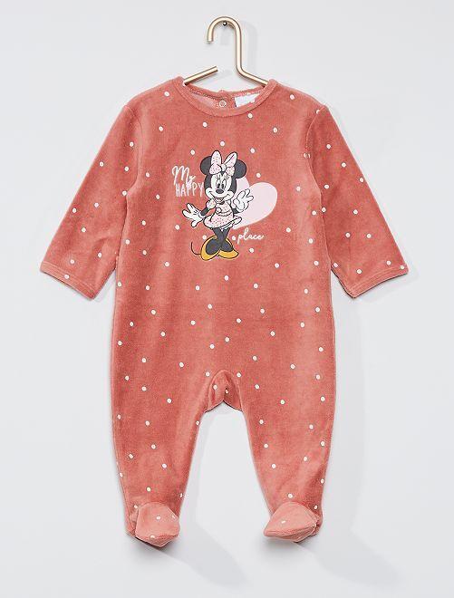 Pyjama velours 'Minnie'                                         Minnie