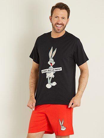Pyjamas court 'Bugs bunny' - Kiabi