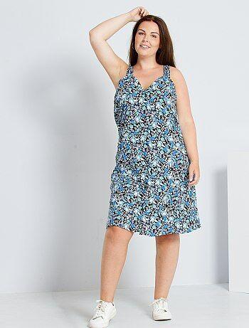 Robe Imprimee Femme Taille 46 Kiabi
