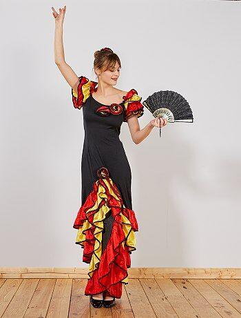 Femme - Robe de flamenco - Kiabi