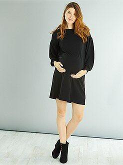 Vêtements de grossesse - Robe de grossesse lacets au dos