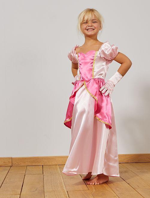 Robe de princesse                             rose Enfant