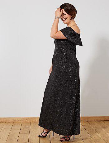 Robe de soirée longue à paillettes - Kiabi e5694b82757