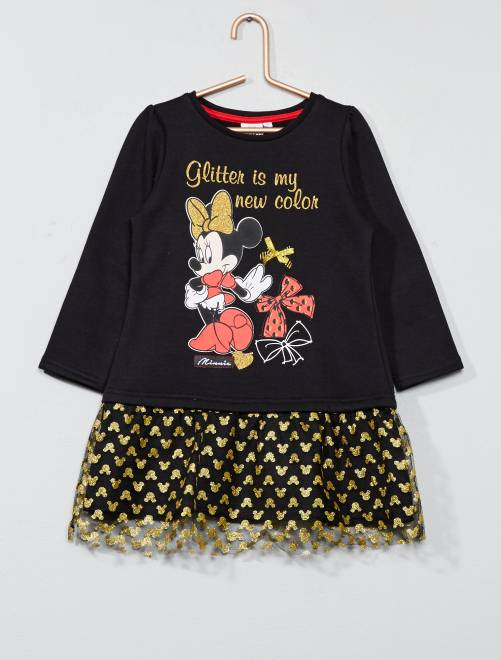 Robe 'Disney Minnie Mouse'                                         noir Fille