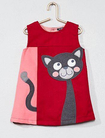 Robe droite chat - Kiabi
