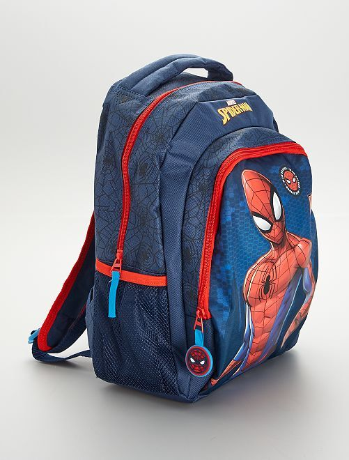 Sac à dos moyen 'Spider-Man'                             bleu/rouge