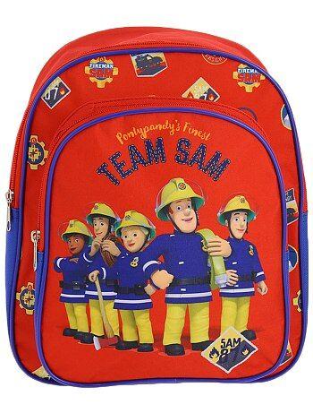Garçon 3-12 ans - Sac à dos 'Sam le pompier' - Kiabi