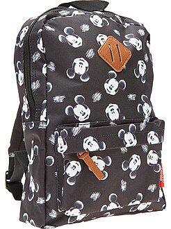 Cartable, tablier d'école - Sac à dos taille moyenne 'Mickey' - Kiabi